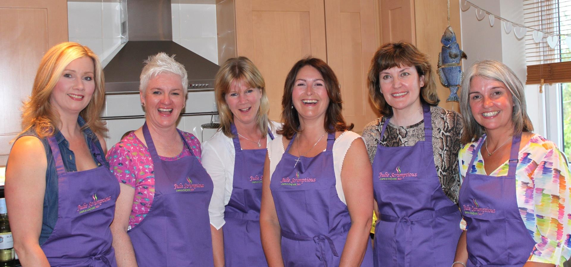 Private cookery lessons in your own home